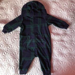 Fleece overalls 6-12 months